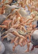 Correggio Assumption of the Virgin,details with angels bearing musical instruments oil painting picture wholesale