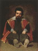 Diego Velazquez Portrait of the Jester Don Sebastian de Morra oil painting picture wholesale