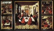 Dieric Bouts Last Supper Triptych oil painting picture wholesale