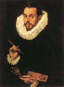El Greco Portrait of the Artist's Son,jorge Manuel Greco oil painting picture wholesale