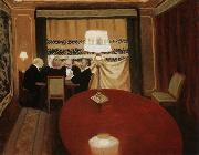 Felix Vallotton The Poker Game oil painting picture wholesale