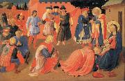 Fra Angelico The Adoration of the Magi oil painting picture wholesale