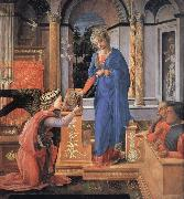 Fra Filippo Lippi The Annunciation oil painting picture wholesale