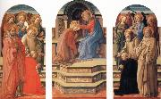 Fra Filippo Lippi The Coronation of the Virgin oil painting picture wholesale