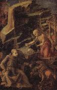 Fra Filippo Lippi St.Jerome in Penitence oil painting picture wholesale