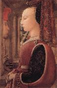 Fra Filippo Lippi Portrait of a Woman with a Man at a Casement oil painting picture wholesale