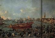 Francesco Guardi The Departure of the Doge on Ascension Day oil painting picture wholesale