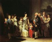 Francisco Goya Portrait of the Family of Charles IV oil painting picture wholesale