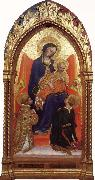Gentile da Fabriano Madonna and child,with sts.lawrence and julian oil painting picture wholesale