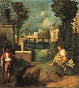 Giorgione The Tempest oil painting picture wholesale