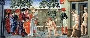 Giovanni di Francesco St Nicholas Resurrects Three Murdered Youths oil painting picture wholesale