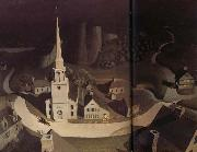 Grant Wood La chevauchee nocturne de paul Revere oil painting picture wholesale