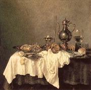 HEDA, Willem Claesz. Breakfast of Crab oil painting picture wholesale