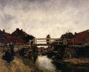 Jacobus Hendrikus Maris The Bridge oil painting artist