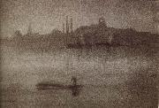 James Abbot McNeill Whistler Nocturne oil painting picture wholesale
