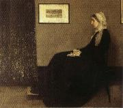 James Abbott McNeil Whistler Arrangement in Gray and Black: Portrait of the Artist's Mother oil painting picture wholesale