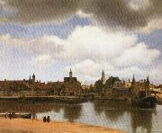 Jan Vermeer Rotterdam Canal oil painting picture wholesale