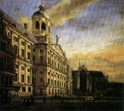 Jan van der Heyden The City Hall in Amsterdam oil painting picture wholesale