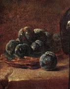 Jean Baptiste Simeon Chardin Details of Still life with plums oil painting picture wholesale