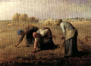 Jean Francois Millet The Gleaners oil painting artist