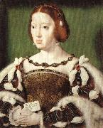 Joos van cleve Portrait of Eleonora, Queen of France oil painting picture wholesale