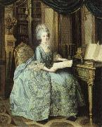 Lie Louis Perin-Salbreux Portrait of Marie Antoinette oil painting picture wholesale