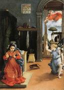 Lorenzo Lotto Annunciation oil