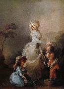 Louis-Leopold Boilly La Preference maternelle oil painting picture wholesale