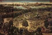 Lucas Cranach The Stag Hunt oil painting picture wholesale