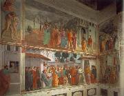 MASACCIO Frescoes in the Cappella Brancacci oil painting picture wholesale
