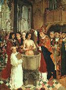 MASTER of Saint Gilles The Baptism of Clovis oil painting picture wholesale