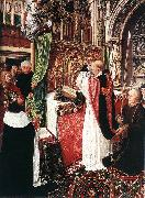 MASTER of Saint Gilles The Mass of St Gilles oil painting picture wholesale