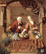 MIERIS, Willem van The Greengrocer oil painting picture wholesale