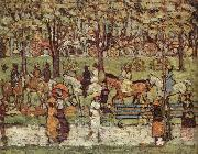 Maurice Prendergast Central Park oil painting artist