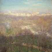 Metcalf, Willard Leroy Early Spring Afternoon-Central Park oil painting picture wholesale