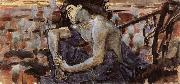 Mikhail Vrubel The Seated Demon oil painting picture wholesale