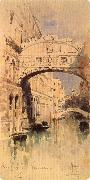 Mikhail Vrubel Venice:The Bridge of Sighs oil painting picture wholesale