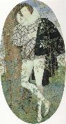 Nicholas Hilliard A Youth Leaning Against a Tree Among Roses oil painting picture wholesale
