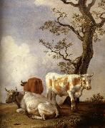 POTTER, Paulus Four Bull oil painting picture wholesale
