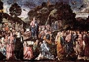 Piero di Cosimo Sermon on the Mount and Healing of the Leper oil painting picture wholesale