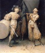 Pieter Bruegel The three soldiers oil painting artist