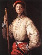 Pontormo, Jacopo Halberdier oil painting reproduction