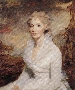 RAEBURN, Sir Henry Portrait of Miss Eleanor Urquhart. oil painting artist