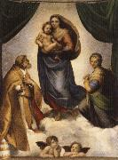 Raphael The Sistine Madonna oil painting picture wholesale