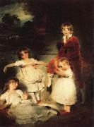 Sir Thomas Lawrence The Children of Ayscoghe Boucherett oil painting picture wholesale