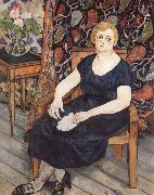 Suzanne Valadon Madame Levy oil painting artist