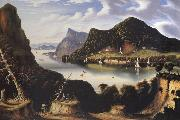 Thomas Chambers View of Cold Spring and Mount Taurus about 1850 oil painting picture wholesale