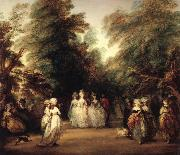 Thomas Gainsborough The mall in St.James's Park oil painting picture wholesale
