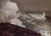 Winslow Homer Vent du nord-est oil painting picture wholesale