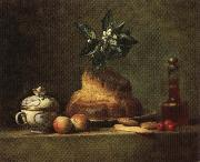 jean-Baptiste-Simeon Chardin The Brioche oil painting picture wholesale